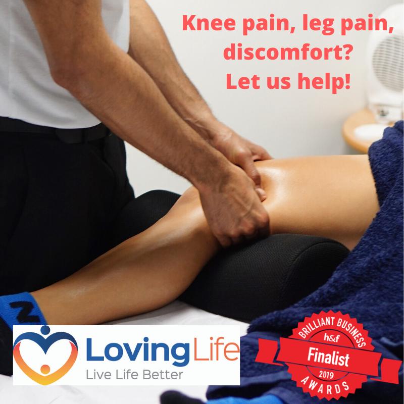 Knee pain, leg pain, discomfort_ Let us help!