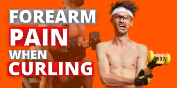 Forearm pain when curling? 3 reasons why!