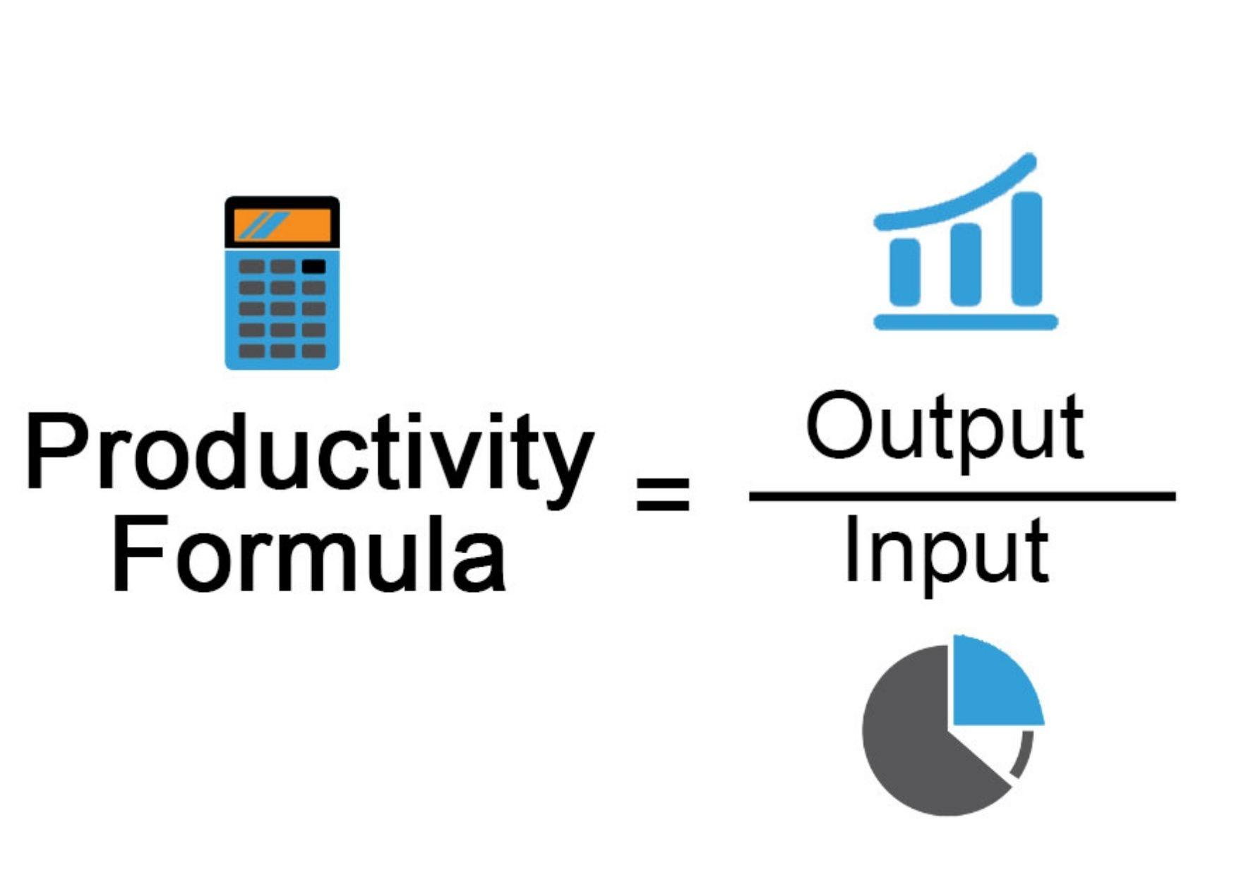 productivity formula